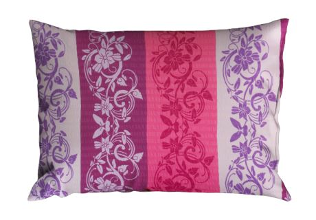 Seersucker Kissenbezug 70x90 cm LANILA violett