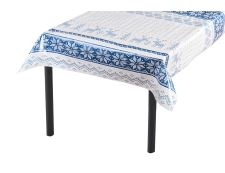 PVC-Tischdecke NORDIC Blau 140x140 cm