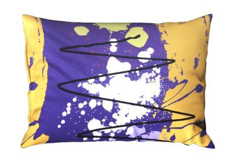 Kissenbezug Baumwolle RENFORCÉ 70x90 cm MIDELA violett