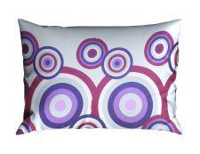 Kissenbezug Baumwolle RENFORCÉ 70x90 cm FIORA Violett
