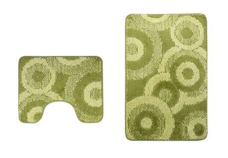 2-teiliges Badezimmer-Set LUNA Grün