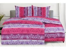 Bettwäsche Seersucker LANILA violett
