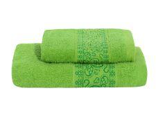 Set Handtuch und Badetuch KEFALA grün