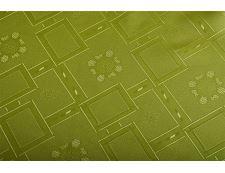 Jacquard Tischdecke KUBE grün 140x180 cm