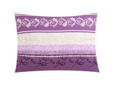 Flanell Kissenbezug 70x90 cm POMPEA violett
