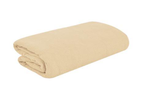 TOP Q Frottee Bettlaken Für eine höhere Matratze geeignet WEIßER KAFFEE 90x200 cm