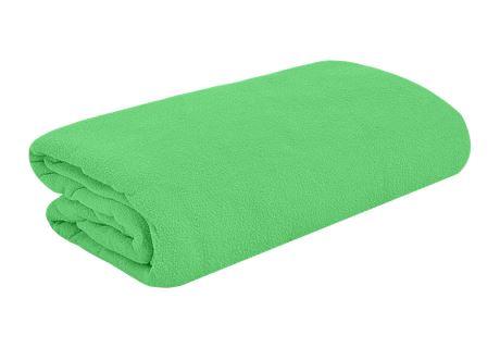 TOP Q Frottee Bettlaken Für eine höhere Matratze geeignet MENTHOL 90x200 cm