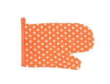 Topfhandschuh PUNKT orange