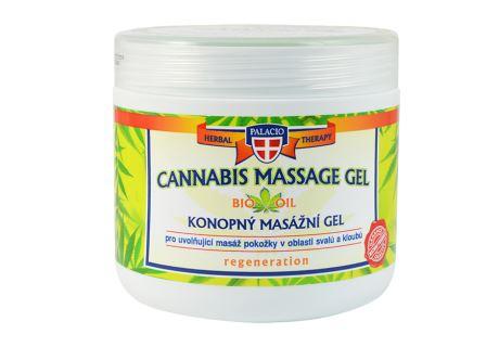 Hanf-Massagegel 600 ml