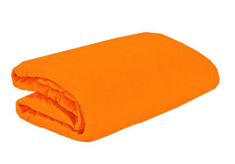 TOP Q Jersey Bettlaken Für eine höhere Matratze geeignet ORANGE 180x200 cm