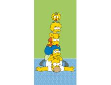Kinderbadetuch SIMPSONS FAMILY TOWER