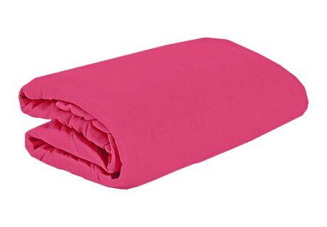 TOP Q Jersey Bettlaken Für eine höhere Matratze geeignet HIMBEERFARBE 180x200 cm
