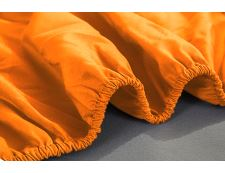Spannbettlaken Jersey ORANGE 180x200 cm