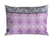 Seersucker Kissenbezug 70x90 cm LIBELA Violett