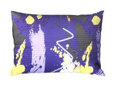 Bettwäsche Seersucker RENFORCÉ in Übergröße MIDELA violett
