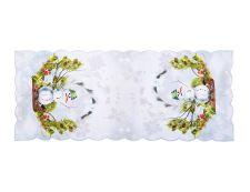 Weihnachtstischdecke SCHNEEMANN 38x85 cm