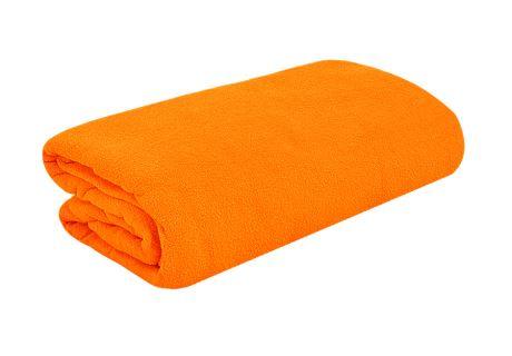 TOP Q Frottee Bettlaken Für eine höhere Matratze geeignet ORANGE 90x200 cm