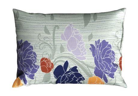 Seersucker Kissenbezug 70x90 cm AGLIA violett