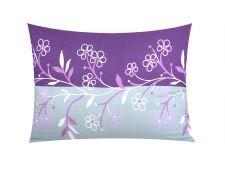 Seersucker Kissenbezug 70x90 cm NESTIA violett