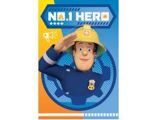 Kinder Fleecdecke FEUERWEHRMANN SAM HERO
