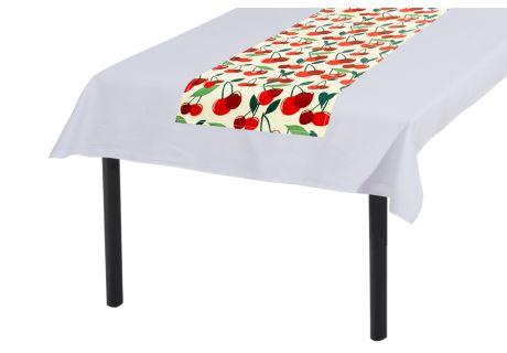 Tischläufer 30x140 cm KIRSCHEN
