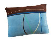 Kissenbezug Mikroplüsch 70x90 cm TULSA blau