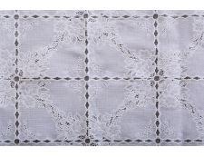 PVC-Spitzentischdecke ALTA 140x140cm