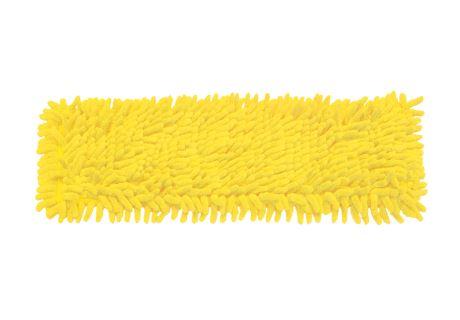 Ersatzbezug für den Wischmopp mit Fransen gelb