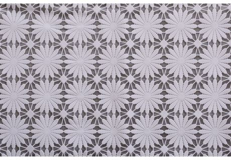 PVC-Spitzentischdecke DAISY 120x140cm