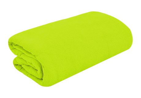 TOP Q Frottee Bettlaken Für eine höhere Matratze geeignet LIMETTE 180x200 cm