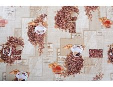 PVC-Tischdecke COFFEE 2 140x160 cm
