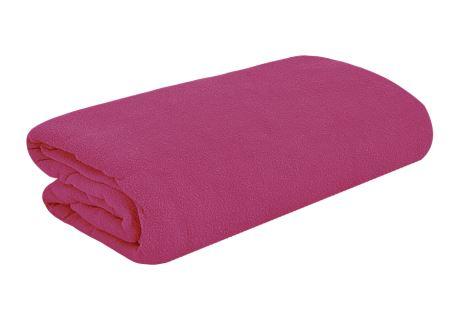 TOP Q Frottee Bettlaken Für eine höhere Matratze geeignet  VIOLETT ORCHIDEE 90x200 cm