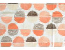 PVC-Tischdecke KAMALA orange 120x140 cm