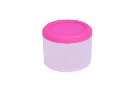 Runde Frischhaltedose LATA 0,5 l pink