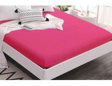 TOP Q Jersey Bettlaken Für eine höhere Matratze geeignet HIMBEERFARBE 90x200 cm