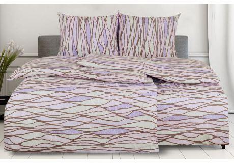 Bettwäsche Baumwolle in Übergröße FELINDRA altrosa