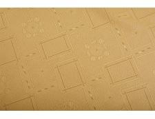 Jacquard-Tischdecke KUBE beige 90x90 cm