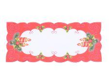 Weihnachtstischdecke KERZENLEUCHTER 2 38x85 cm