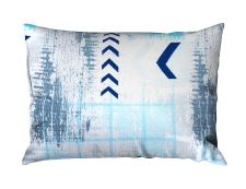 Seersucker Kissenbezug RENFORCÉ 70x90 cm SAGITA Blau